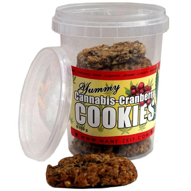 Cannabis-Cranberry Cookies