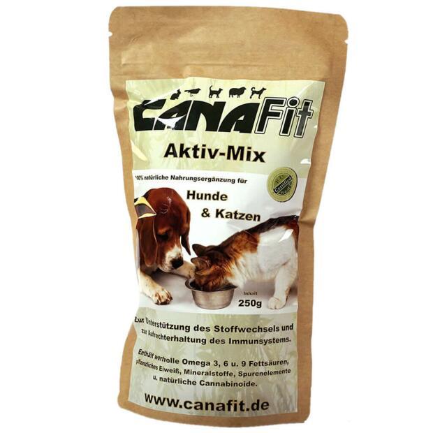 Hunde & Katzen Aktiv-Mix 250g